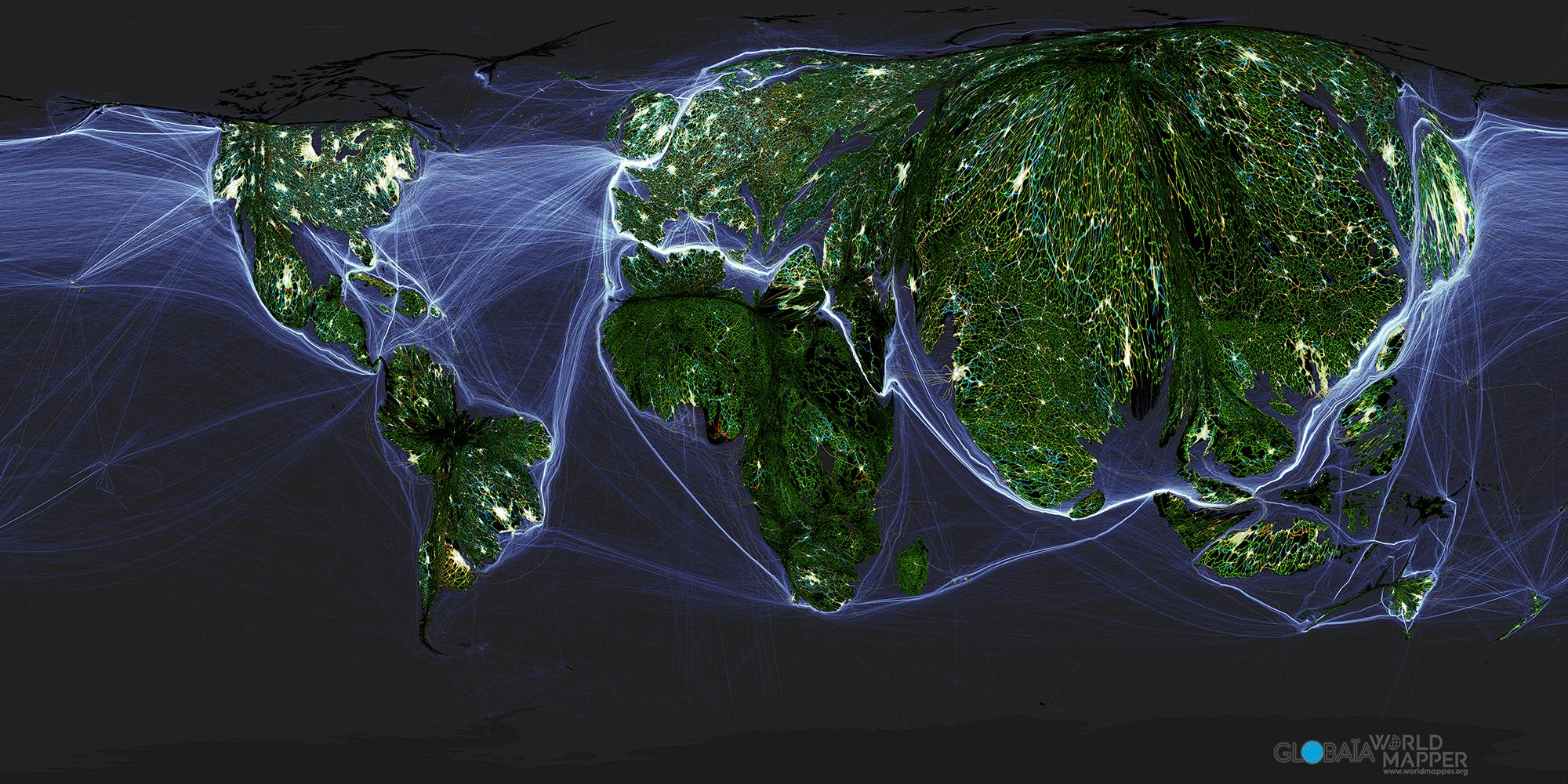Kartenwelten des Anthropozän